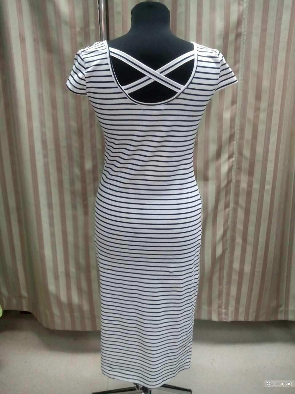 Платье в полоску р.S,M,L(два цвета)