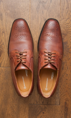 Мужские туфли-броги Rockport р.44-45
