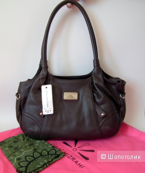 ISAAC MIZRAHI сумка из натуральной кожи