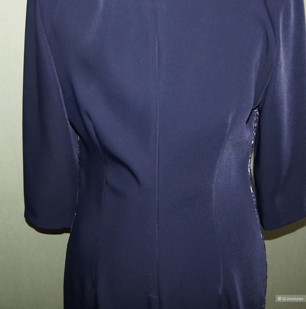 Платье с кружевом Fashion Lux, р-р 44