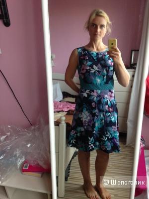 Шелково платье PENNYBLACK, размер 46+