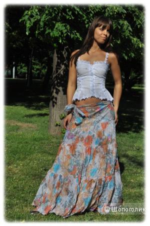 Шикарная юбка в пол Паола Белеза 44-46.