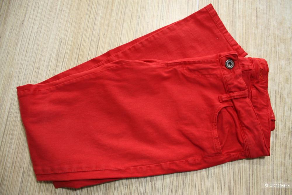 Красные джинсы Colin's, SlimFit, 38