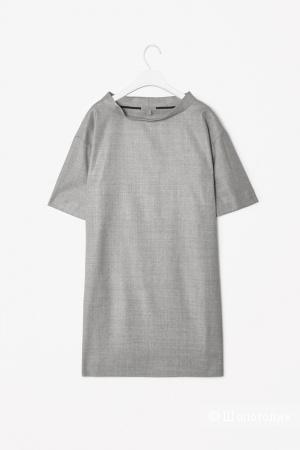 Шерстяное прямое платье COS / M-L