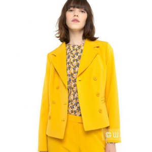 Горчичный жакет пиджак Mademoiselle R  42 размер