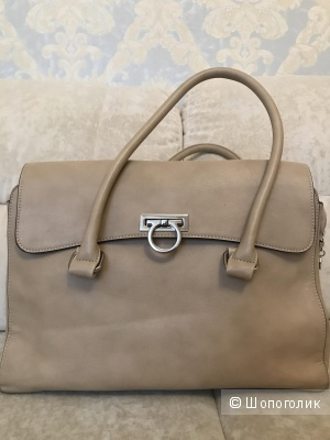 Бежевая сумка из искусственной кожи, Испания