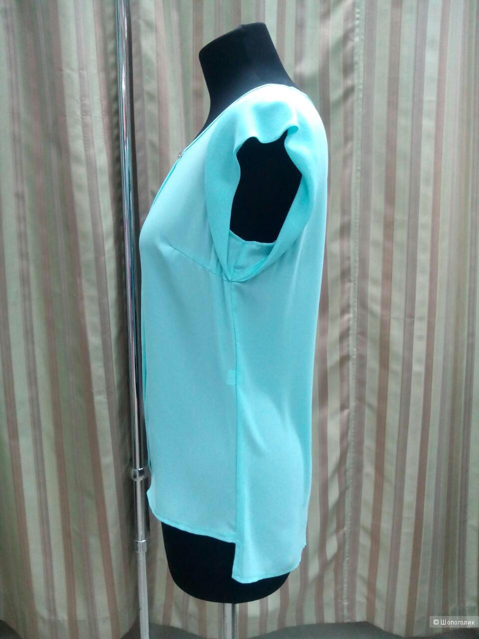 Новые шифоновые блузочки ( два цвета) р.42,44,46,48