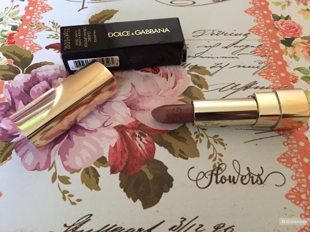 Губная помада Dolce & Gabbana Make up Classic Cream lipstick
