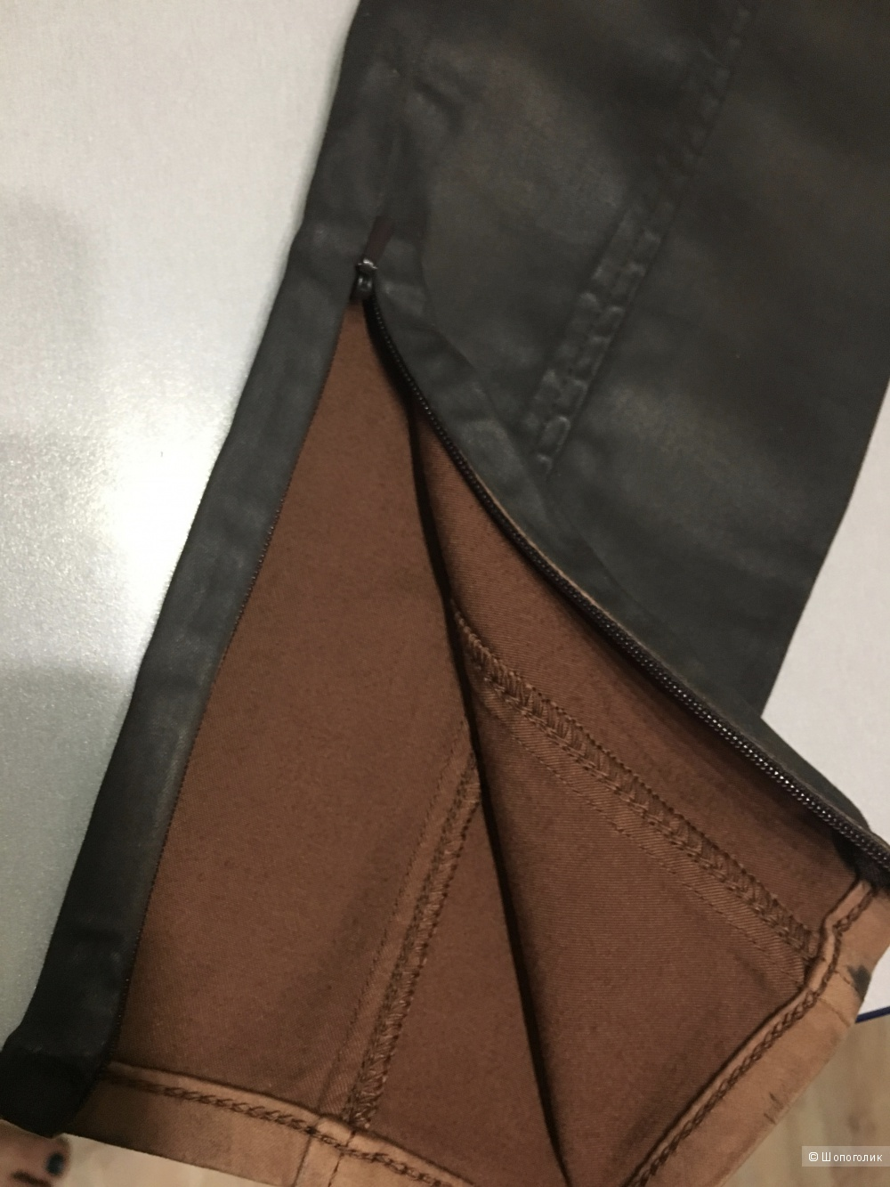 Джеггинсы POLO RALPH LAUREN, 30 (Размер Джинсов). Темно-коричневый