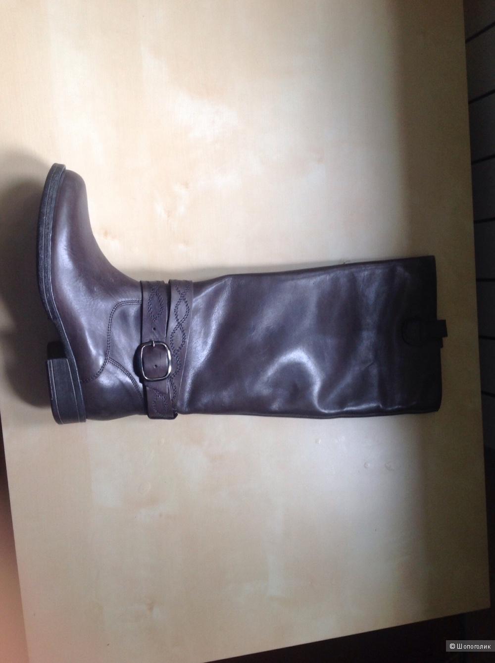 Кожаные сапоги Maliparmi 37 размер