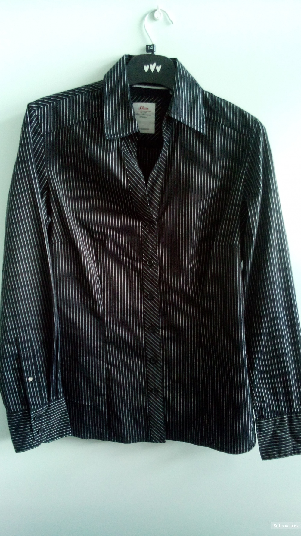 Блузка-рубашка базовая S.Oliver Германия размер M (46-48)