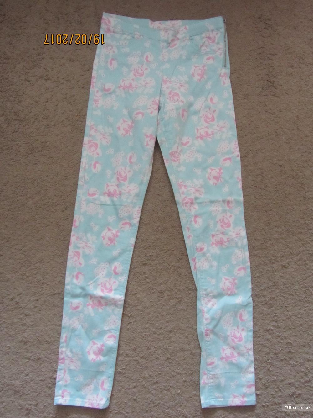 Новые летние брюки без этикетки на р.42-44 из магазина H&M