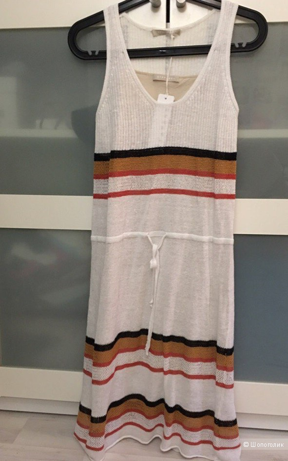 Платье Stefanel XS(42) лён