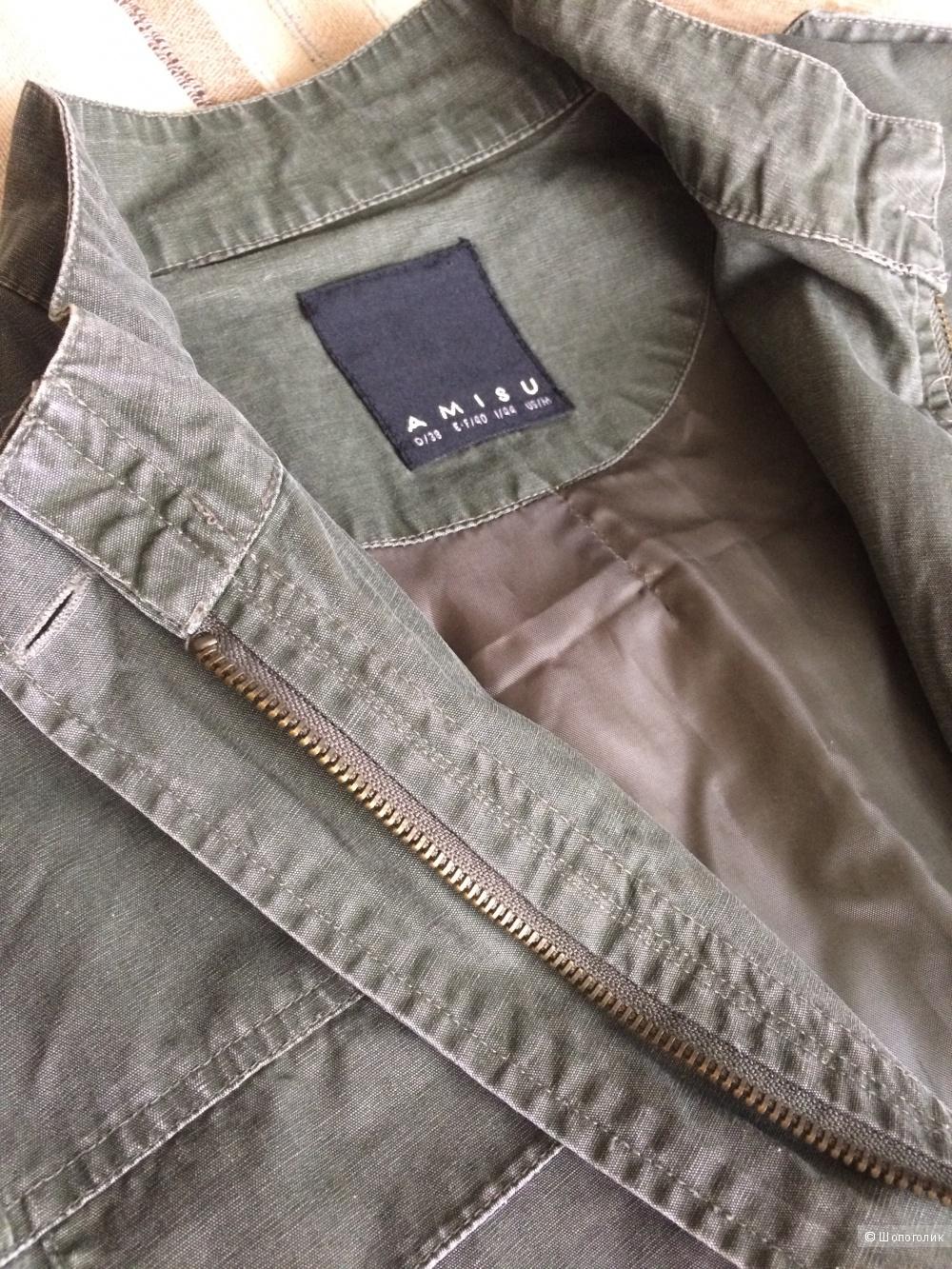 Тонкая куртка Amisu, размер 38
