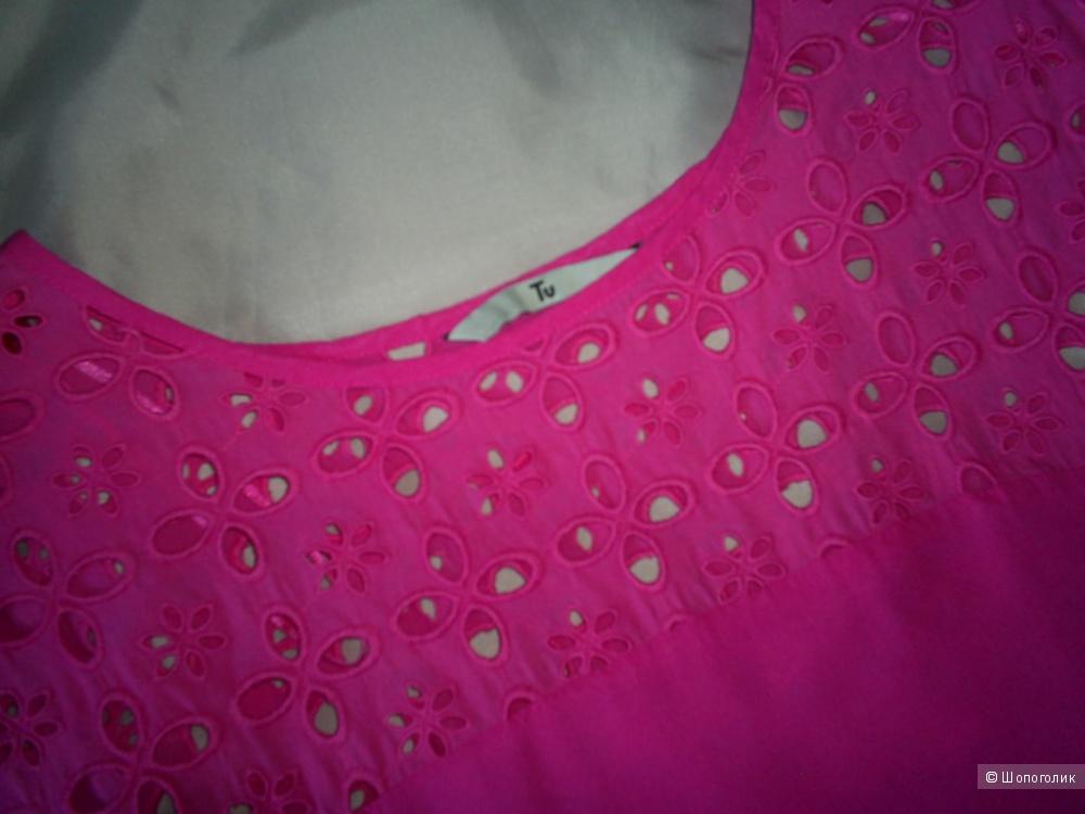 Блузка 100%-вискоза от Tu р 46-48.