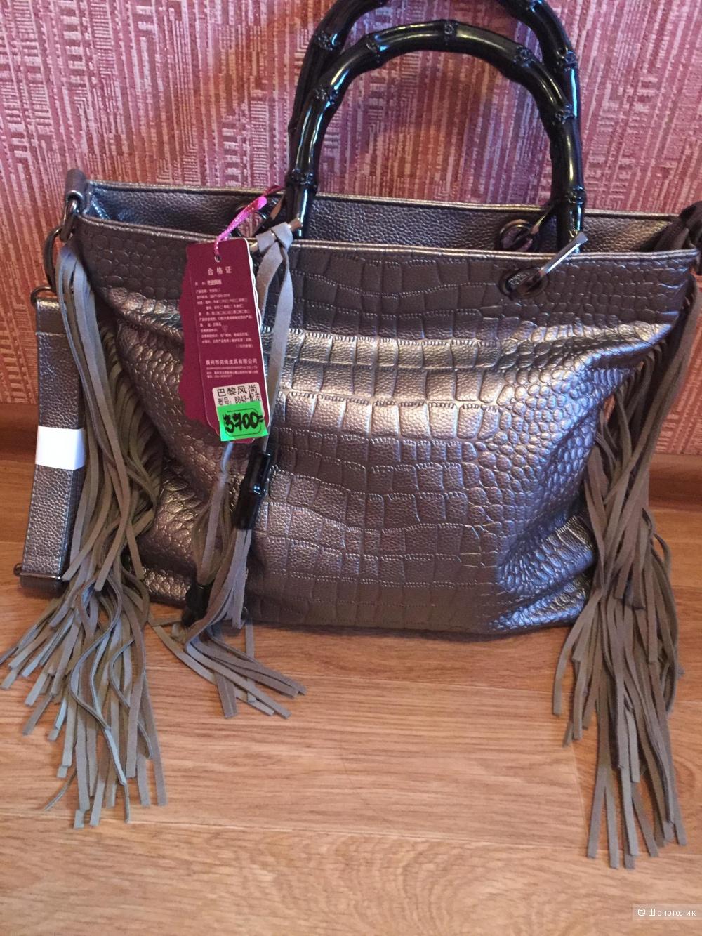 Новая сумка экокожа.