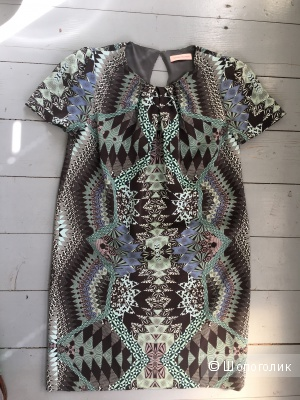 Шелковое платье Matthew Williamson