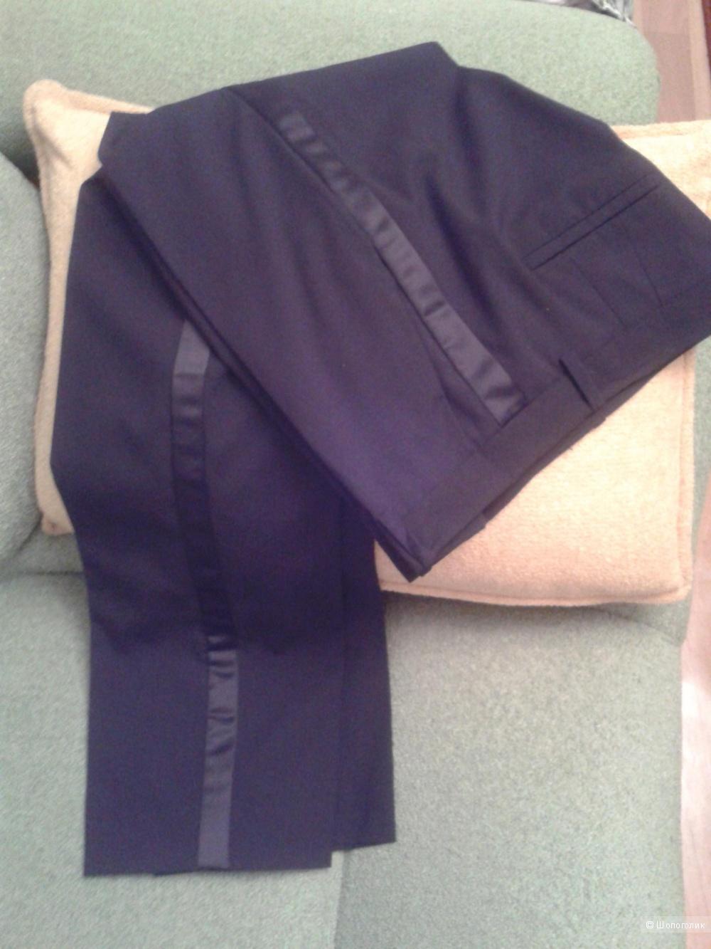 Черные брюки,44 р-р.