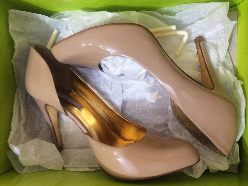 Туфли nude Ted Baker (6 UK)