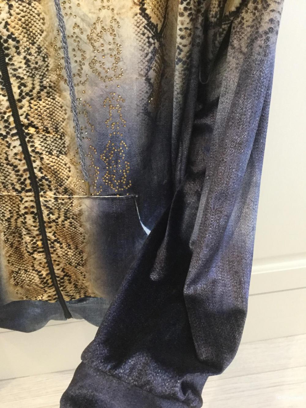 Велюровый домашний костюм, размер L