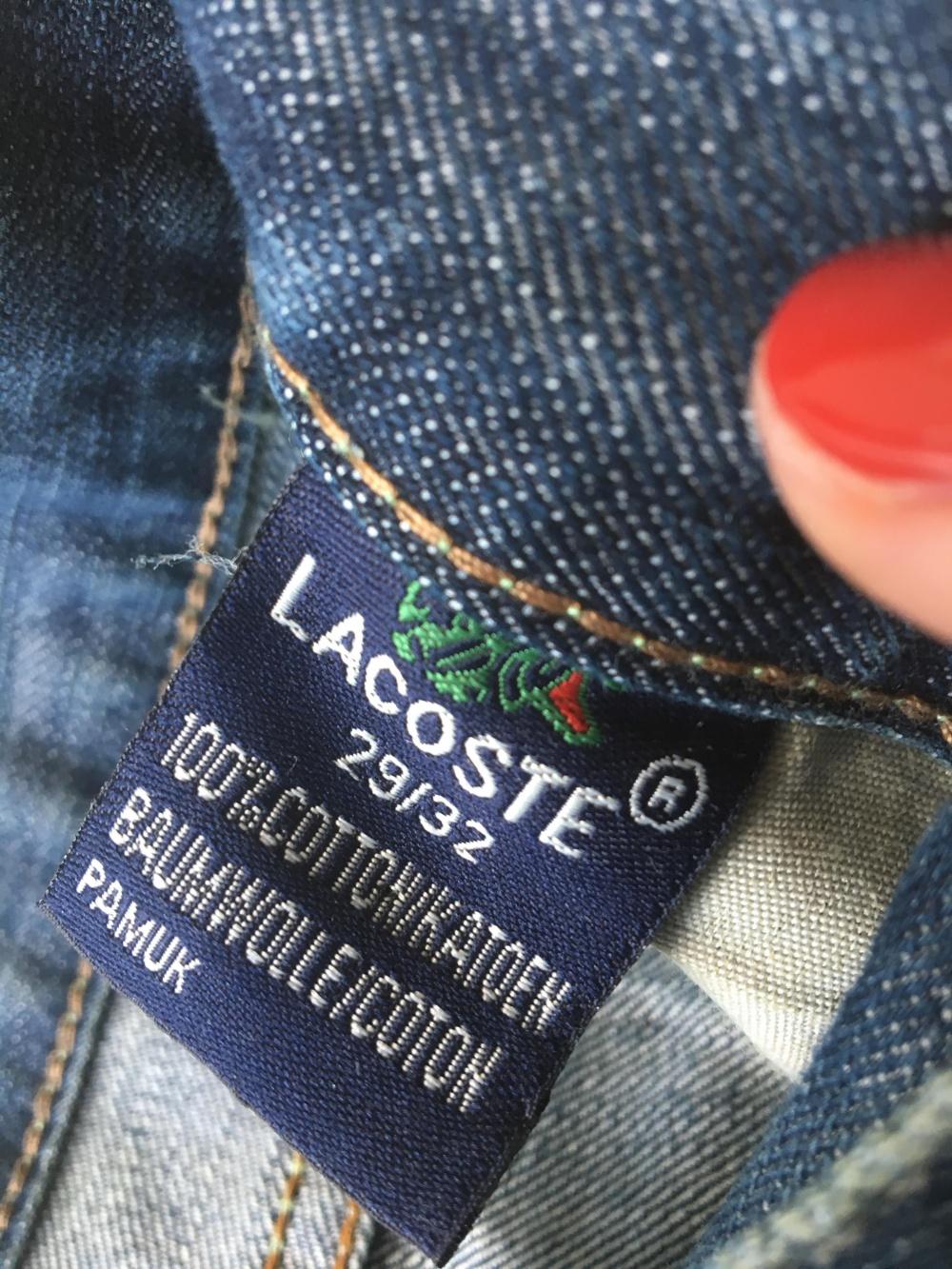 Джинсы Lacoste, размер 42