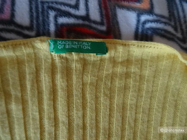 """Кардиган на пуговицах """"Benetton"""", размер 42, б/у"""