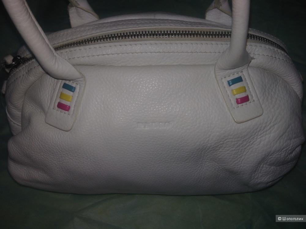 Кожаная летняя сумочка palio