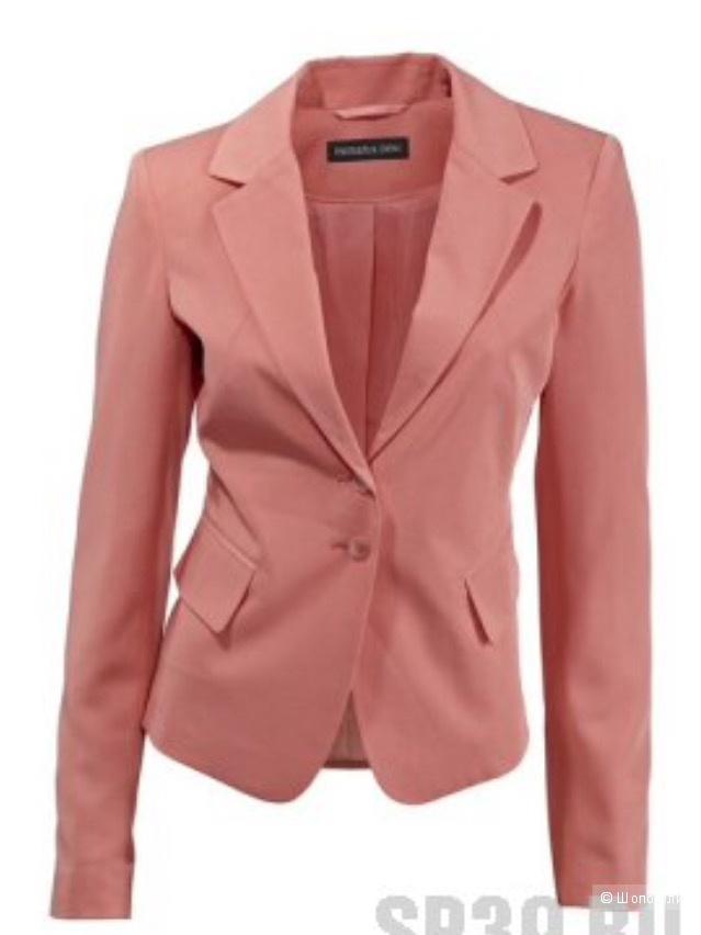 Пиджак жакет коралловый 46-48 размер