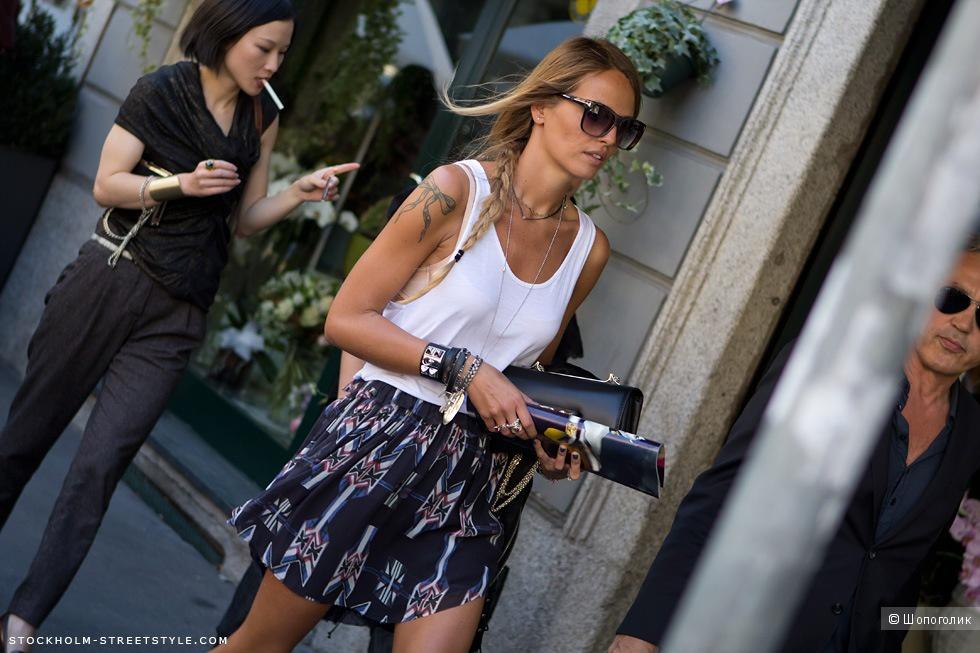 Шёлковая юбка Isabel Marant