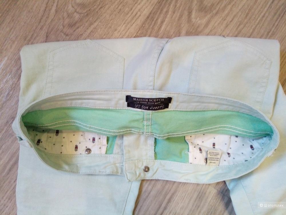 Мятные джинсы MAISON SCOTCH, 27 р