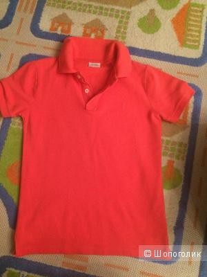 Поло Zara и футболка из Кидзании (140 на 152)