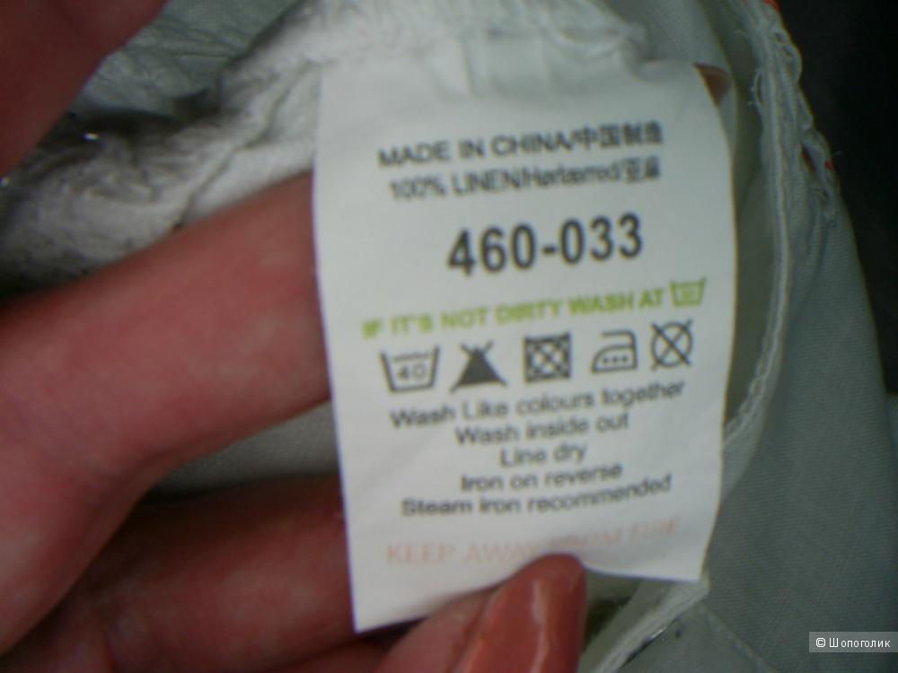 Льняные брюки от Next р 48-50.
