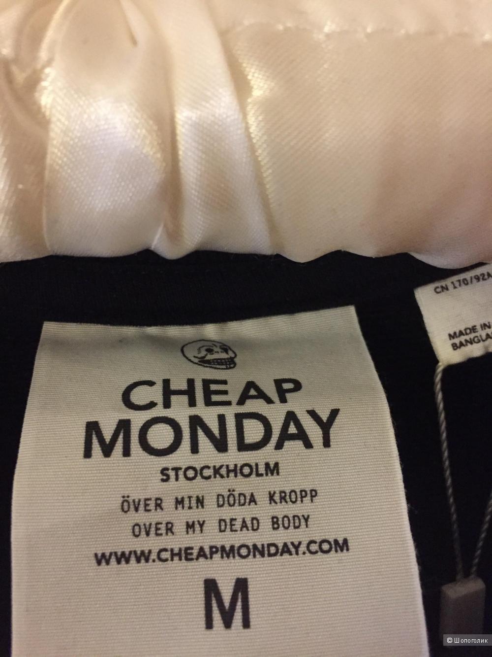 Свитшот толстовка  с рукавами 3/4 Cheap Monday размер М.