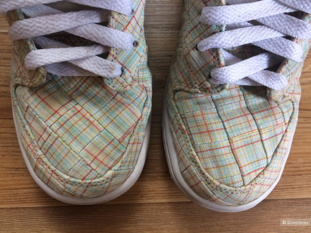 Кеды Nike Dunk High с принтом Liberty of London размер EU 36, US 5,5.