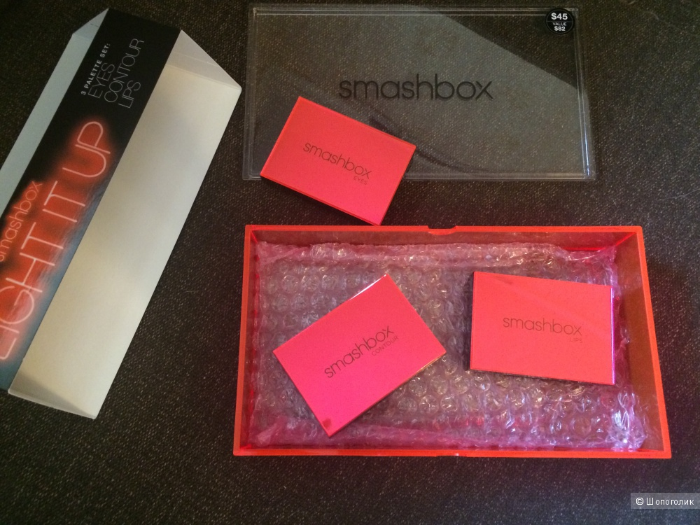 Набор палеток Smashbox Light it up