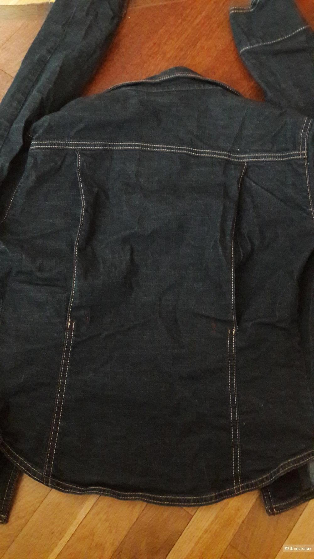 Новый джинсовый пиджак куртка Iceberg размер S (42)