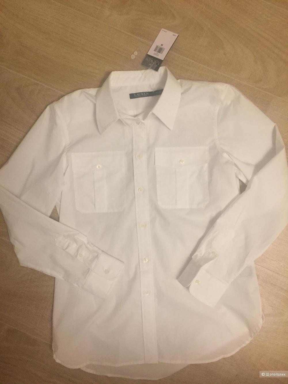 Хлопковая новая рубашка Ralph Louren размер M ( L )