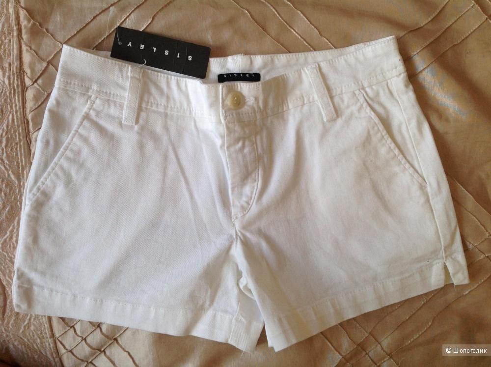 Новые шорты Sisley р38 на наш 40-42