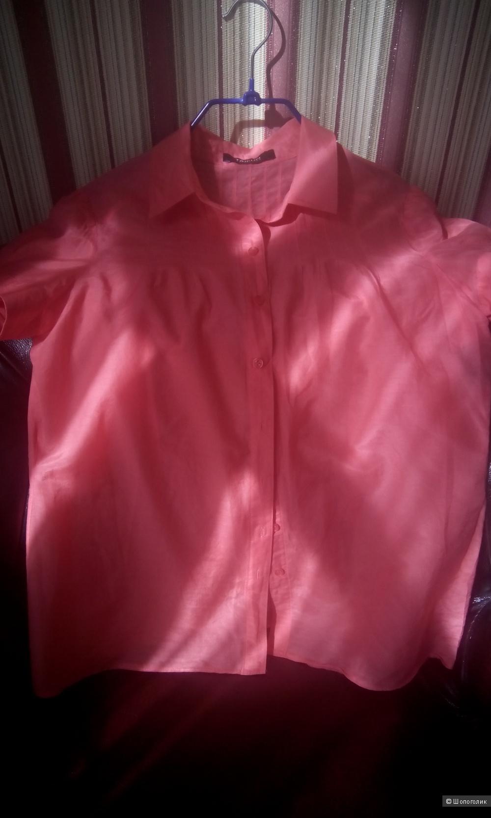 Прекрасная кораллового цвета блузка Taifun Collection 44-46 размер