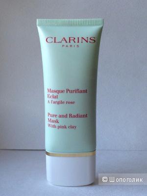Clarins Eclat Mat Очищающая маска на основе розовой глины