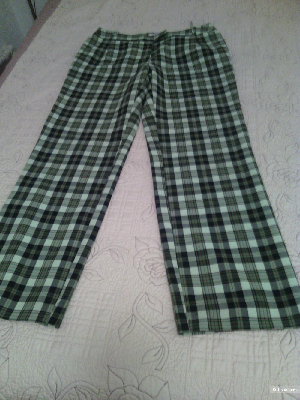 Женские клетчатые брюки