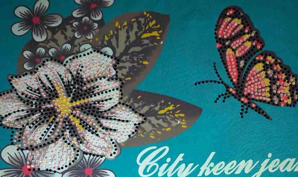 Женская футболка City Keen, р-р М (44-46)