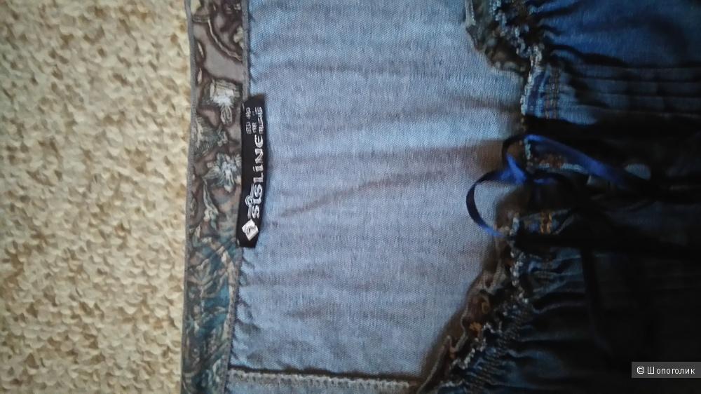 Платье джинсовое летнее