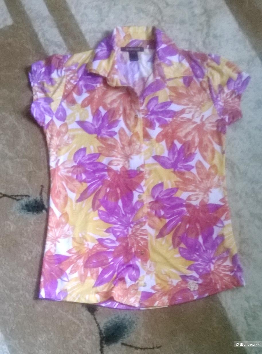Блузка рубашка ROBERTO CAVALLI 46-48 размер