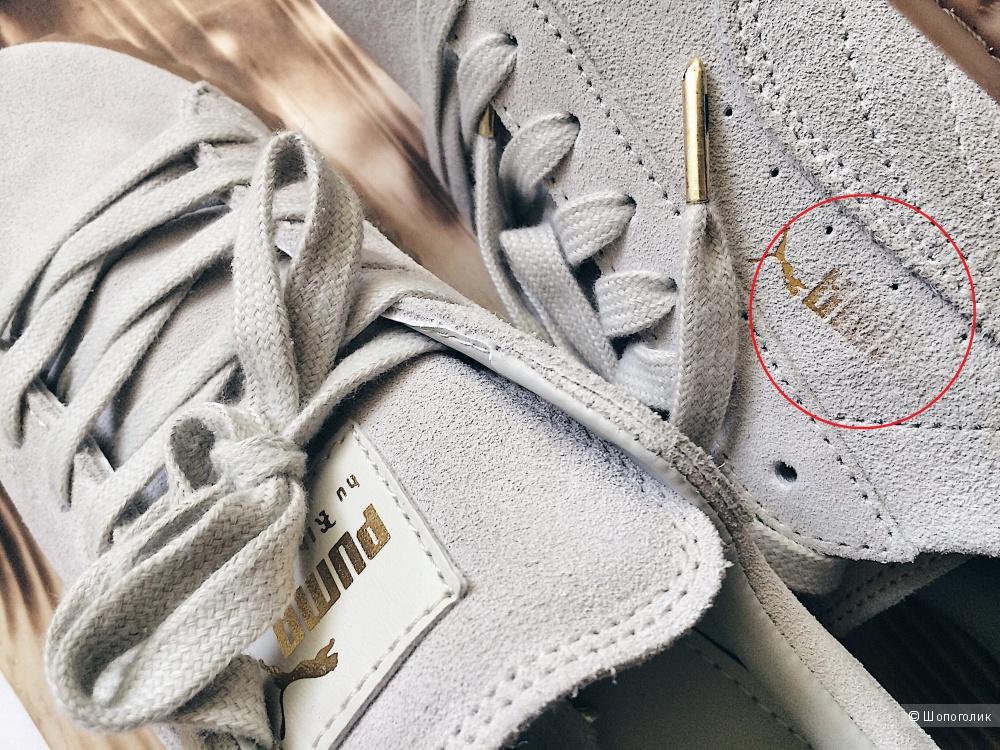 LUX копия, EUR-41, 26.5 см - женские кроссовки Puma By RIhanna Creeper.