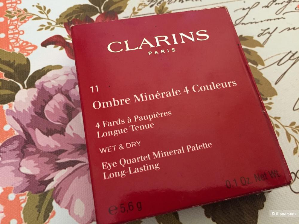 Clarins Четырехцветные тени для век - №11 Forest, Ombre Minérale 4 Couleurs