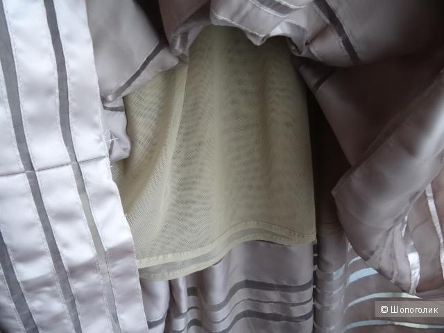 Платье пудрового цвета, размер 42-44