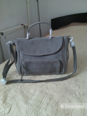 Французская сумка из натуральной 100%замши