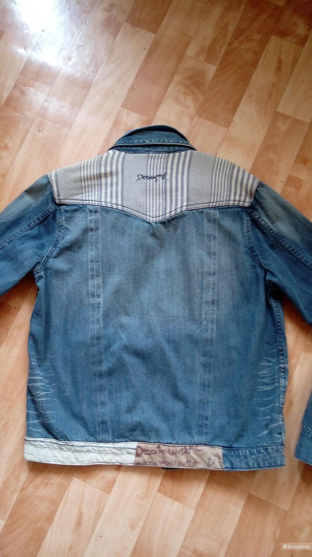Новая мужская джинсовая куртка Desigual