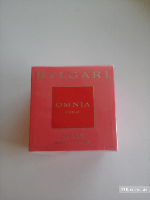 BVLGARI Omnia Coral,новые,40 мл